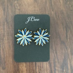 J.crew pave Daisy stud earring